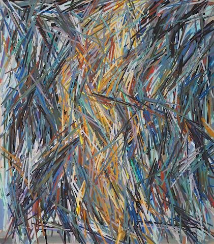 Charles A. Arnoldi (American, born 1946) Tailwind, 1978 84 x 74in