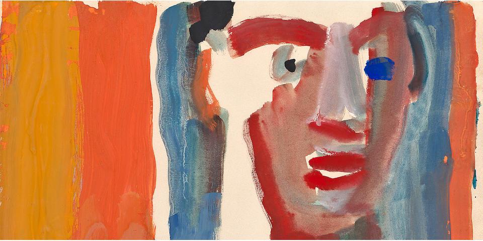 (n/a) David Park (American, 1911-1960) Untitled, 1960 11 1/2 x 14 1/2in