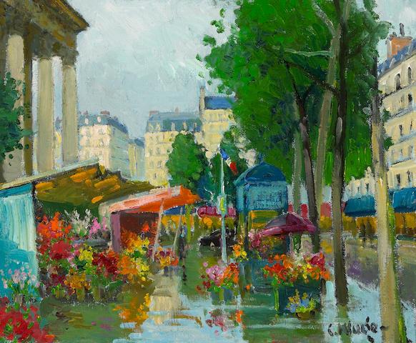 (n/a) Constantin Kluge (Latvian/French, 1912-2003) Place de l'Opéra, c. 1974 23 3/4 x 29in (60.3 x 73.7cm)