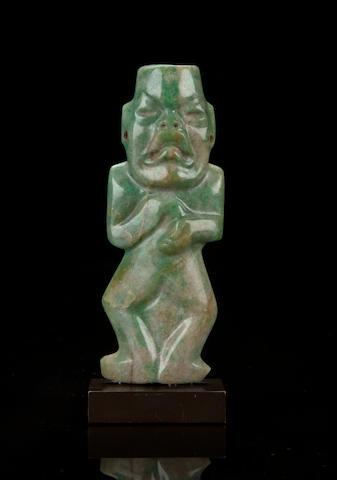 Olmec Jade Figure Middle Preclassic, ca. 900 - 400 B.C.