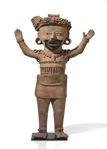 Veracruz Standing Priest, Remojadas, Classic/Late Classic, ca. A.D. 450 - 950
