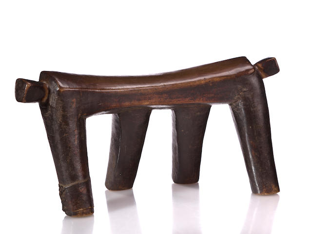 Dinka Low Stool, Sudan