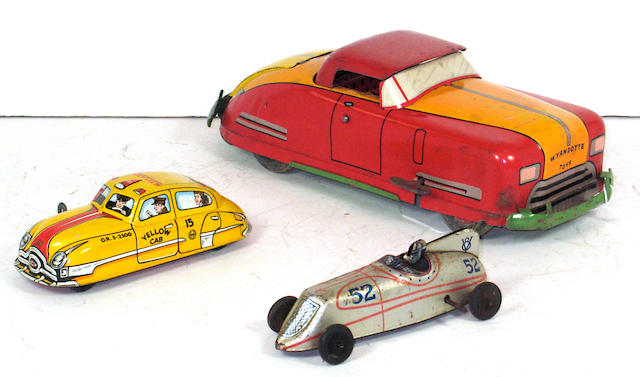 Assorted Lithographed toys