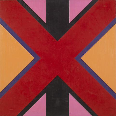 Karl Stanley Benjamin (American, born 1925) #44, 1964 30 x 30in