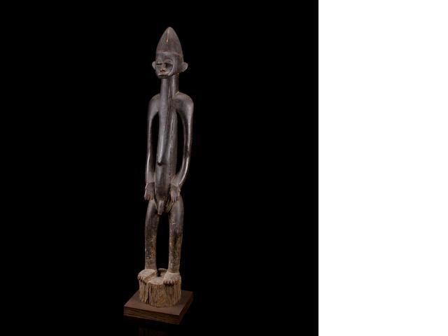 Senufo Male Rhythm Pounder, déblé, Ivory Coast