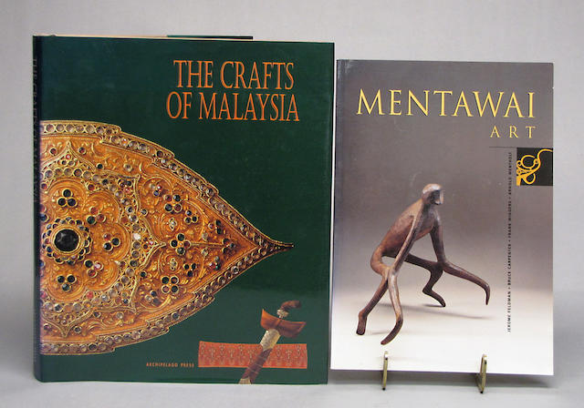 A group of books on Southern and South East Asia