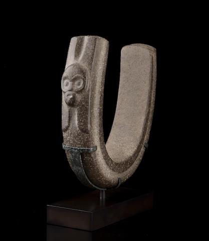 Veracruz Stone Yoke,<br>Late Classic, ca. A.D. 550 - 950