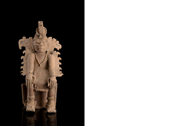 Veracruz Seated Dignitary,<br>Early Classic/Classic, ca. A.D. 200 - 800