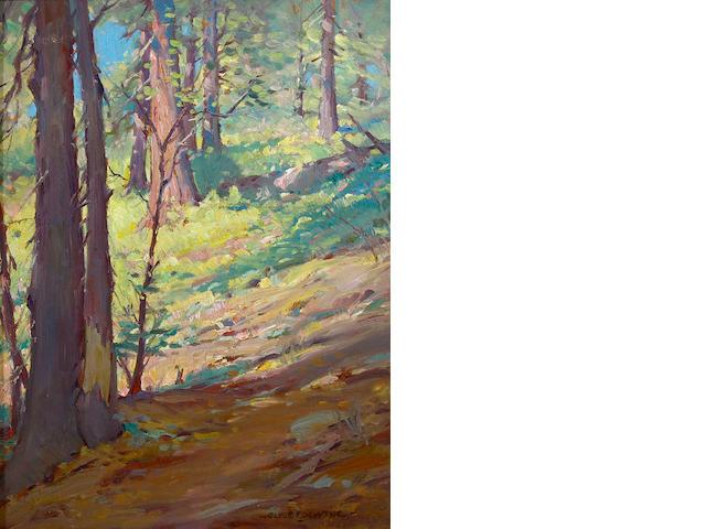(n/a) Clyde Forsythe (1885-1962) Sierra solitude 16 x 12in