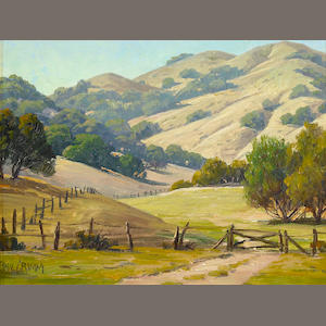 Paul Grimm, California Ranch Scene