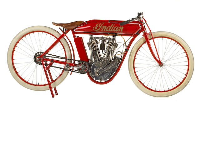 1912 Indian 61ci Twin Board Track Racer Engine no. 75D900