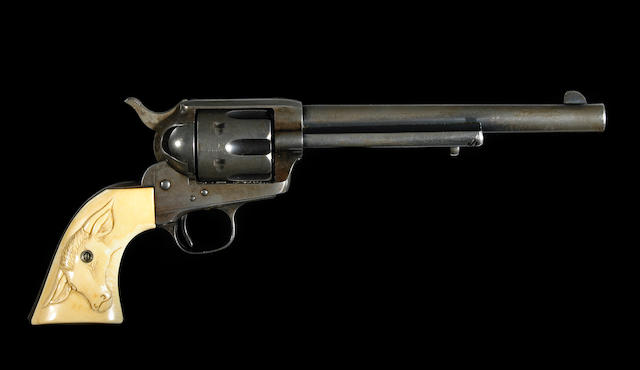 A U.S. Colt single action army revolver