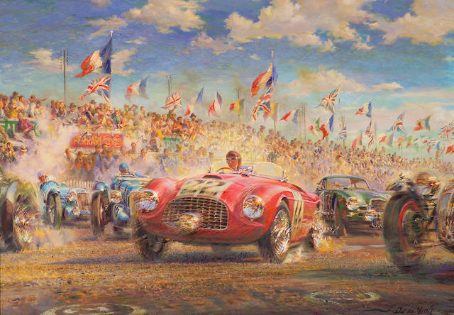Alfredo De La Maria: '1949 24 Heures Du Mans',