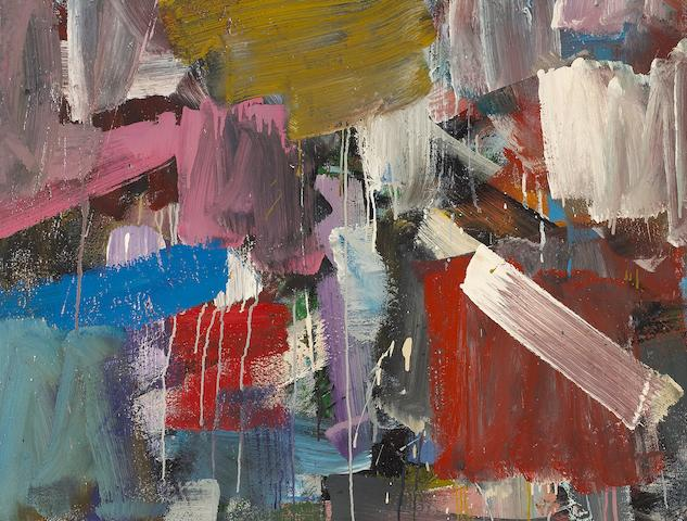 John Saccaro (American, 1913-1981) Untitled, c. 1959 25 1/2 x 33 3/4in