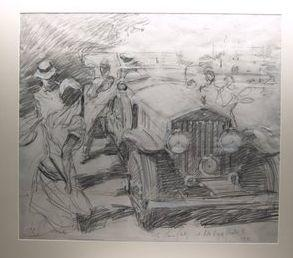 De Bruyne, 'The Tennis Party with Rolls-Royce Pantom II - 1931',