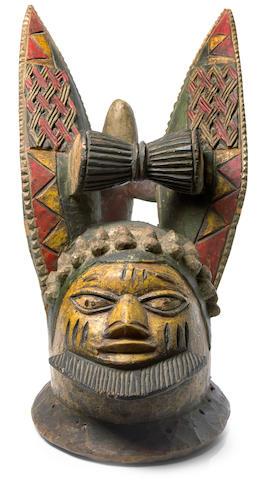 A Yoruba Egunugun mask
