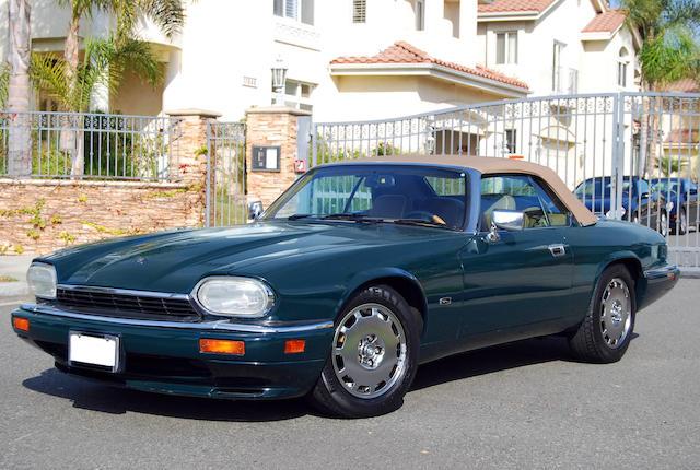 A Jaguar XJ-S,