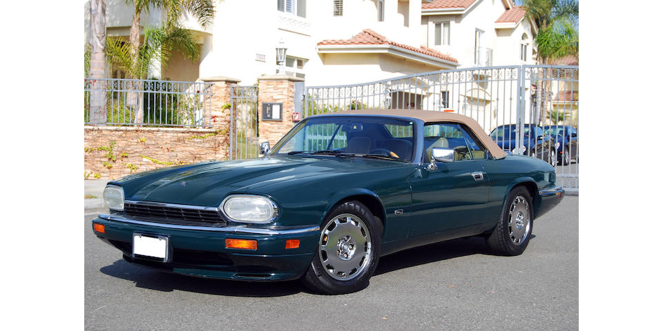 1996 Jaguar XJS Convertible  Chassis no. SAJNX2745TC224598