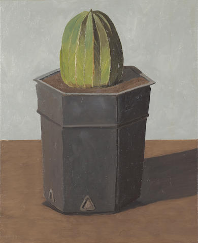 Gordon Cook (American, 1927-1985) Cactus #1 22 x 18in