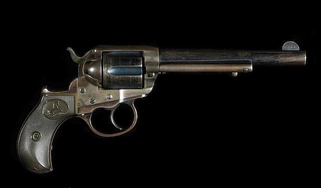 A Colt Model 1877 Lightning double action revolver