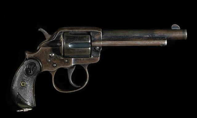 A U.S. Colt Alaskan/Philippine Model 1902 double action revolver