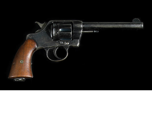 A U.S. Colt Model 1901 double action revolver