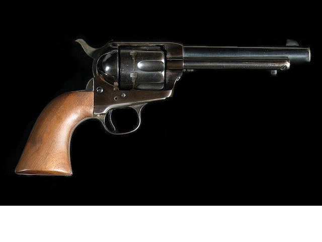 A U.S. Colt Artillery model single action army revolver