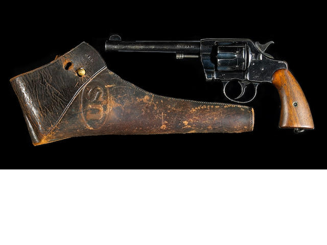 A U.S. Army Model 1903 double action revolver