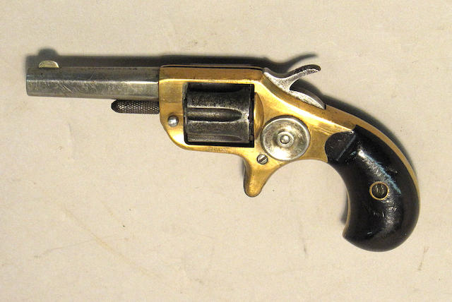A Colt New Line 22 pocket revolver