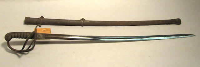 A German cavalry saber