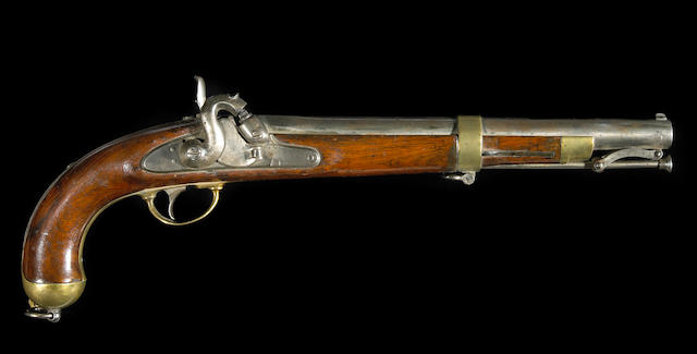 A U.S. Model 1855 percussion pistol/carbine