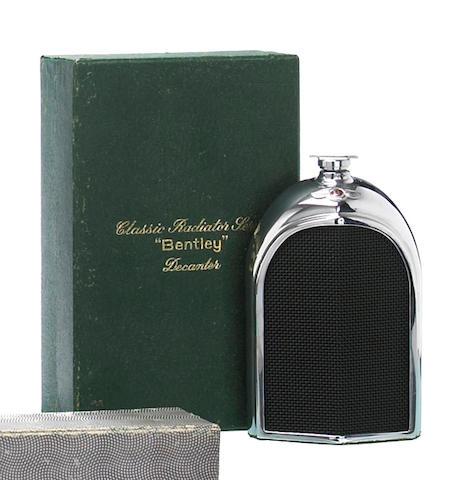 A Bentley decanter by Ruddspeed, British, 1960s,