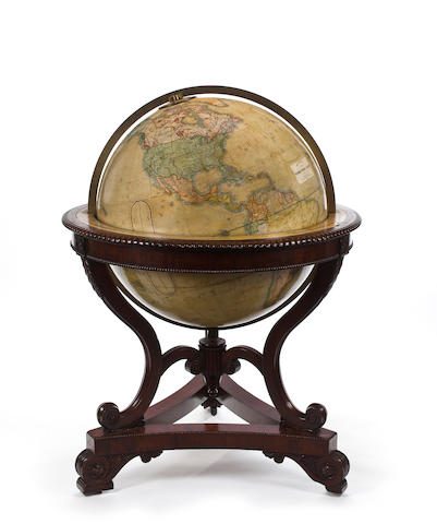 A massive globe by Malby's of London