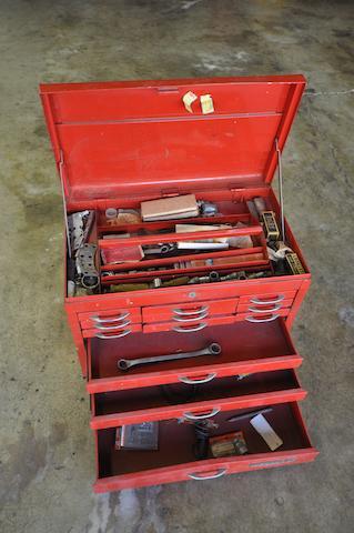 Steve McQueen's original dirtbike toolbox,