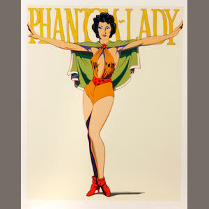 Mel Ramos (American, born 1935); Phantom Lady;