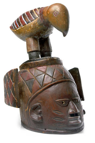 Yoruba Gelede Mask, Nigeria