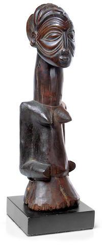 Luba Female Figure, Democratic Republic of Congo