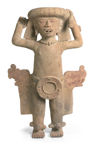 Veracruz Standing Priest,<br>Middle to Late Classic, ca. A.D. 400-900