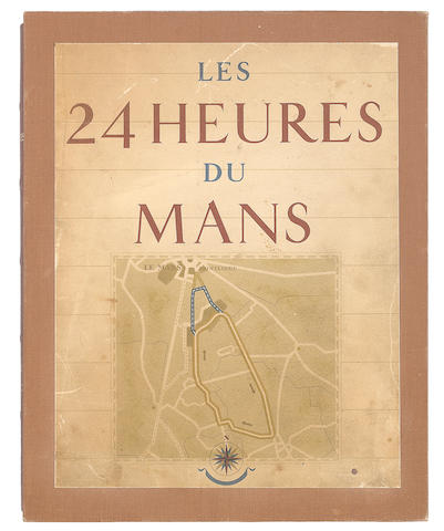 A signed copy of 'Les 24 Heures Du Mans' by Roger Labric,