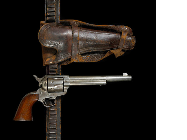 An early Colt civilian single action army revolver