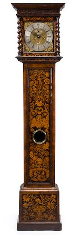Linder Marquetry tall case clock