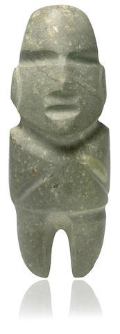 Large Mezcala Stone Figure, Type M-10, Late Preclassic, ca. 300-100 B.C.