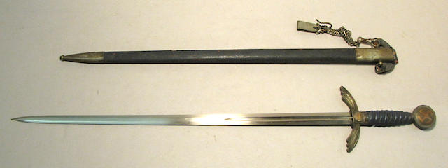 A German luftwaffe officer's sword by SMF
