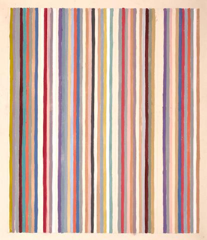 Gene Davis (American, 1920-1985) Circus, 1979 40 3/4 x 35in (103.5 x 89cm)
