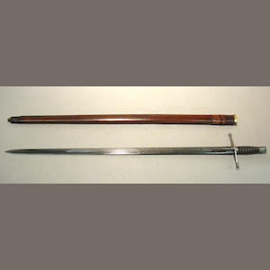 A Pattern 1865 highland officer's undress sword for the Highland Light Infantry