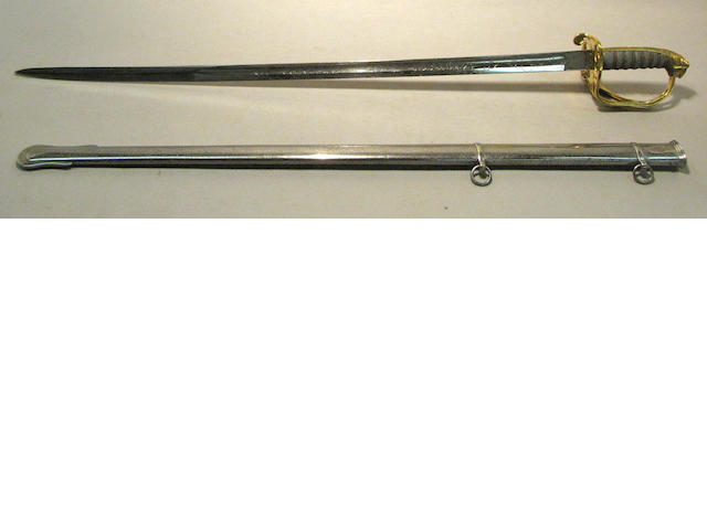 A British Pattern 1822 infantry officer's sword by Wilkinson