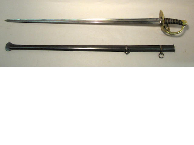 A French An XIII cuirassier trooper's sword