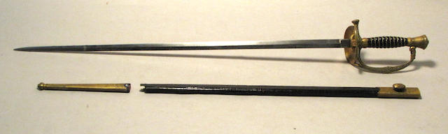 A Japanese Type 8 diplomat's court sword