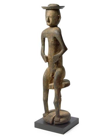 Southeastern Nigeria, possibly Tiv, Male Figure