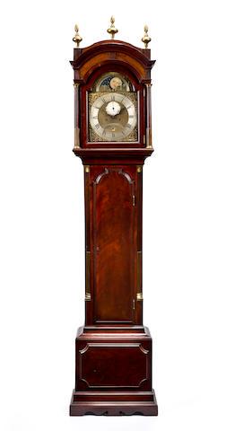 A long case clock, John Barber Stratford, circa 1800